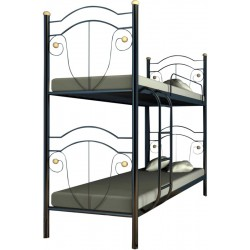 Кровать двухъярусная Диана Металл-Дизайн