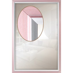 Дзеркало прямокутне Art-com Z110/054 Рожевий
