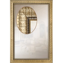 Дзеркало прямокутне Art-com Z160/085 Золотий