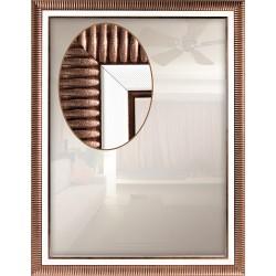Зеркало прямоугольное Art-com Z1238-08 Коричневый