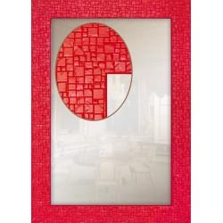 Дзеркало прямокутне Art-com Z1429 Червоний