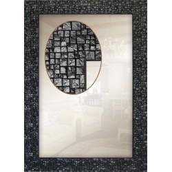 Дзеркало прямокутне Art-com Z1429-02 Чорний