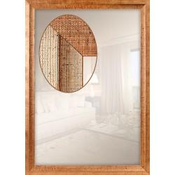 Зеркало прямоугольное Art-com Z140/072 Золотой