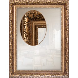 Дзеркало прямокутне Art-com Z9302G Золотий