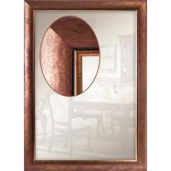 Дзеркало прямокутне Art-com Z4687-2 Мідь