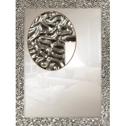 Дзеркало прямокутне Art-com Z1434-s Серебро