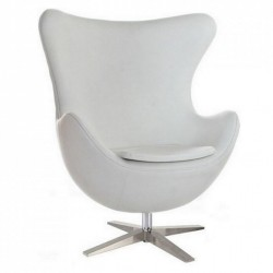 Кресло Эгг (белый) Группа СДМ