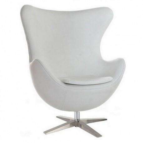 Кресло Эгг (белый) SDM