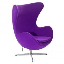 Кресло Эгг (фиолетовый) Группа СДМ