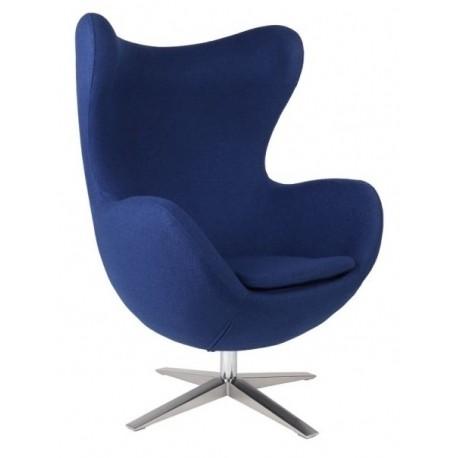 Кресло Эгг (синее) Группа СДМ