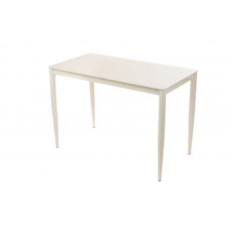Стол стеклянный Т-300-11 (молочный) Vetro Mebel