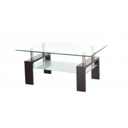 Журнальный столик С-107-2 (венге) Vetro Mebel