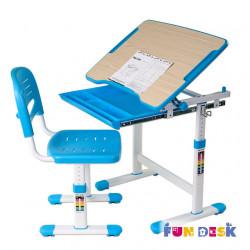 Комплект парта и стул-трансформеры Piccolino Blue FunDesk