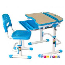 Комплект парта и стул-трансформер Sorriso Blue