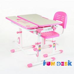 Комплект парта и стул-трансформер Lavoro Pink FunDesk