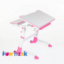 Парта Volare Pink+лампа L2 FunDesk