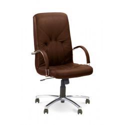 Кресло Менеджер (Manager) steel chrome Новый Стиль