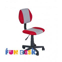 Детское кресло LST4 Red-Grey Fundesk