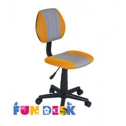 Детское кресло LST4 Yellow-Grey Fundesk