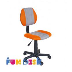 Детское кресло LST4 Orange-Grey Fundesk