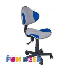 Детское кресло LST3 Blue-Grey Fundesk