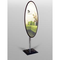 Зеркало на ножке овальное N2 венге Art-com