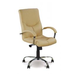 Кресло Гермес steel chrome LB (Germes) Новый Стиль
