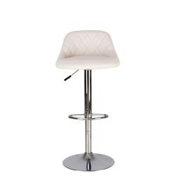 Барный стул Камилла хром (Camilla chrome) Новый Стиль