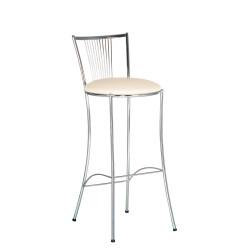 Барный стул Фоска хром (Fosca chrome) Новый Стиль