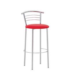 Барный стул Марко хром (Marco chrome) Новый Стиль