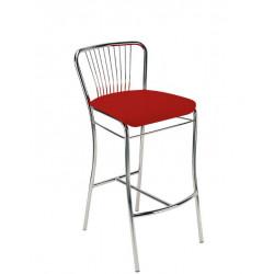 Барный стул Нерон хром (Neron chrome) Новый Стиль