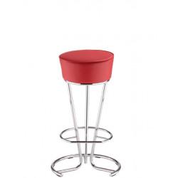 Барный стул Пинаколада хром (Pinacolada chrome) Новый Стиль