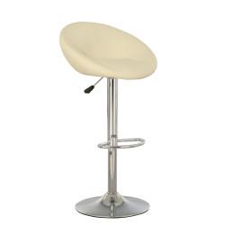 Барный стул Роуз люкс хром (Rose lux chrome) Новый Стиль