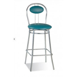 Барный стул Тициано хром (Tiziano chrome) Новый Стиль