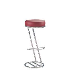 Барный стул Зета хром (Zeta chrome) Новый Стиль
