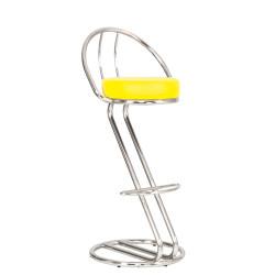 Барный стул Зета плюс хром (Zeta plus chrome) Новый Стиль