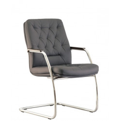 Кресло Честер CF LB steel сhrome (Chester) Новый Стиль