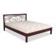 Кровать с ковкой Модерн ЧДК