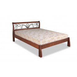 Кровать с ковкой Ретро ЧДК