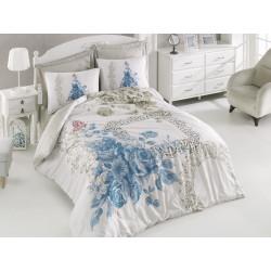 Постельное белье Cotton box Defne mavi
