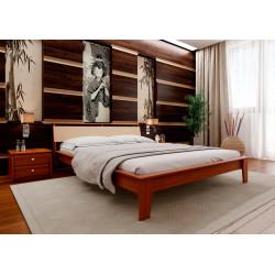 Кровать с мягим изголовьем Венеция М ЧДК