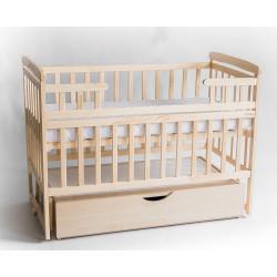 Детская кроватка-трансформер с ящиком DeSon DS1-02 (натуральный)