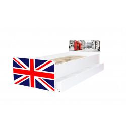 Кровать с ящиком Viorina-Deko BEVERLY 002