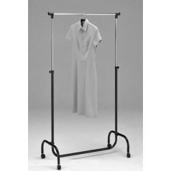 Стойка для одежды Onder Mebli CH-4001-CR BK Черный