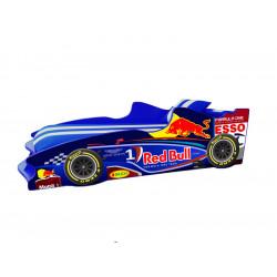 Кровать с подъемным механизмом+матрас Viorina-Deko Formula 1 Red Bull Синий