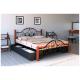 Кровать Жозефина на деревянных ножках Металл-Дизайн
