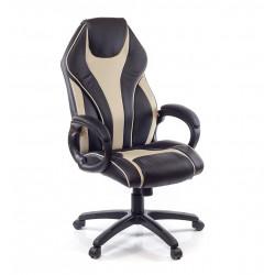 Кресло Мурано PL TILT черный/темный беж А-класс