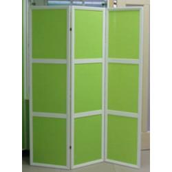 Ширма Кантри 300-3S Белый/Зеленый