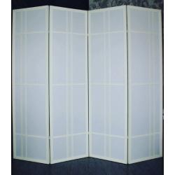 Ширма Кантри 600-4S Белый