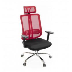 Кресло Сити CH SR(L) красный А-класс